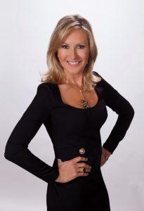 Photo of woman posing in black dress